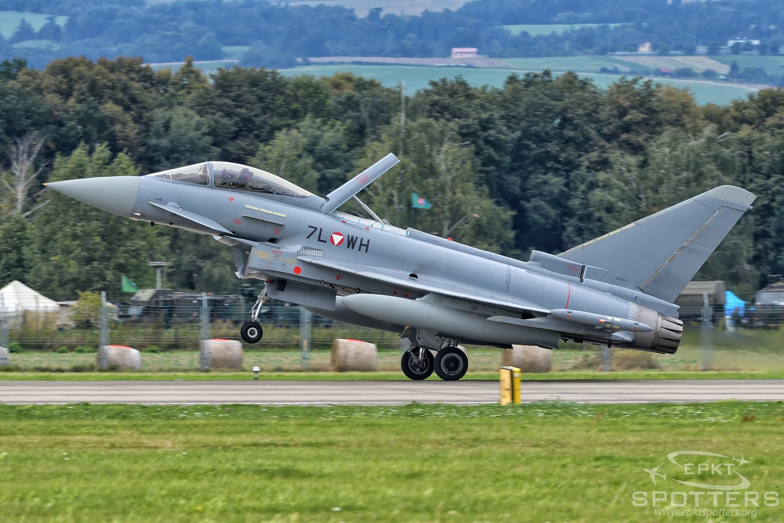 7L-WH - Eurofighter EF-2000 Typhoon S (Austria - Air Force) / Leos Janacek Airport - Ostrava Czech Republic [LKMT/OSR]