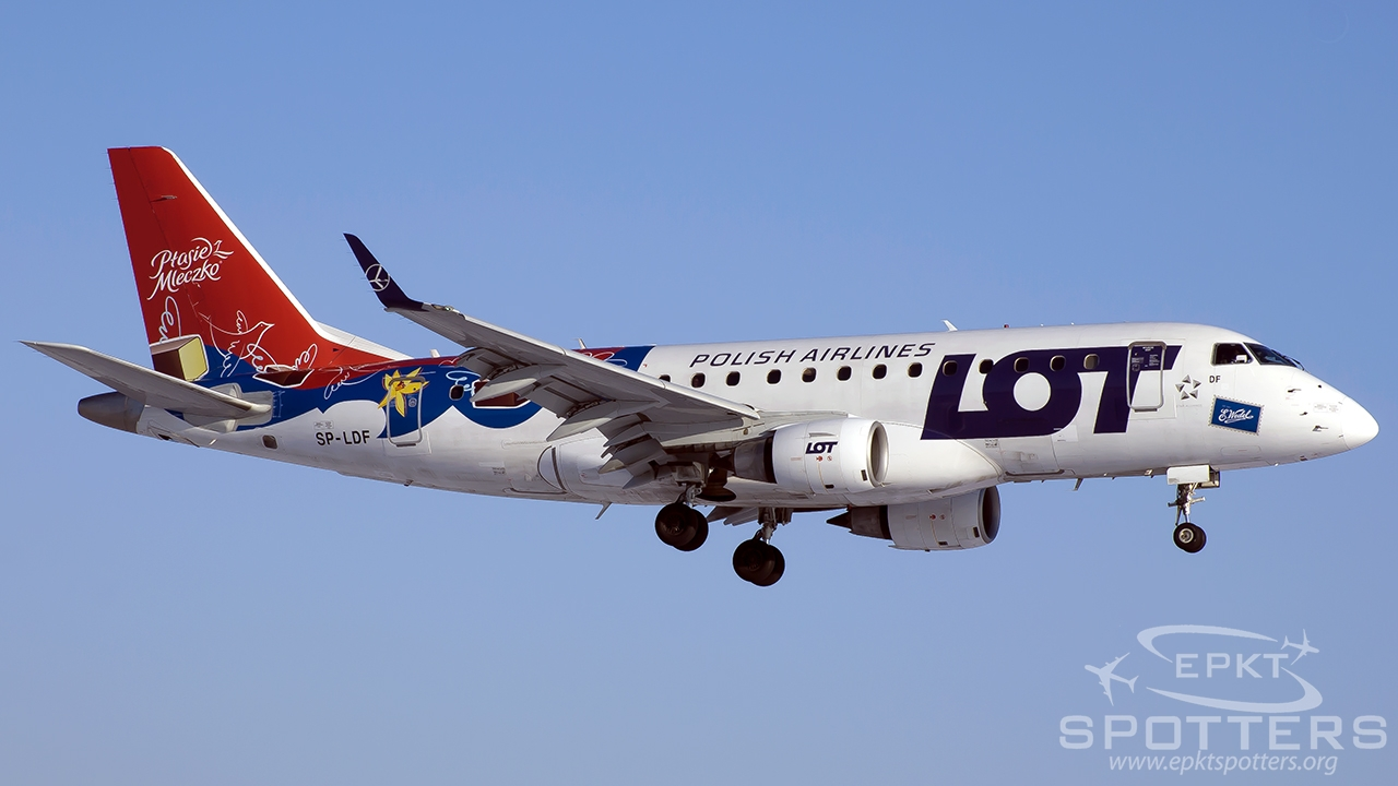SP-LDF - Embraer 170 -100LR (LOT Polish Airlines) / Chopin / Okecie - Warsaw Poland [EPWA/WAW]
