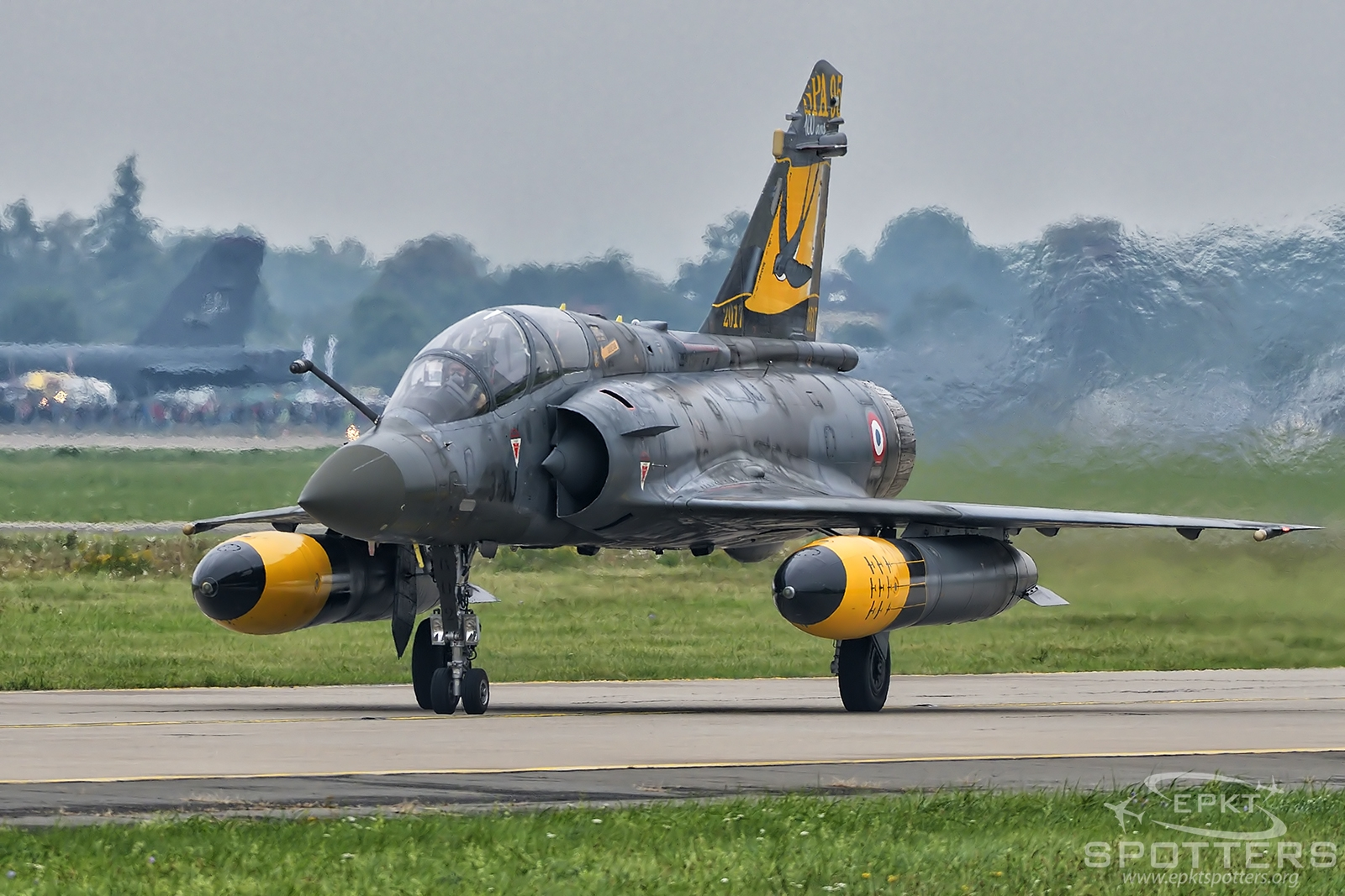 602 - Dassault Mirage 2000 D (France - Air Force) / Leos Janacek Airport - Ostrava Czech Republic [LKMT/OSR]