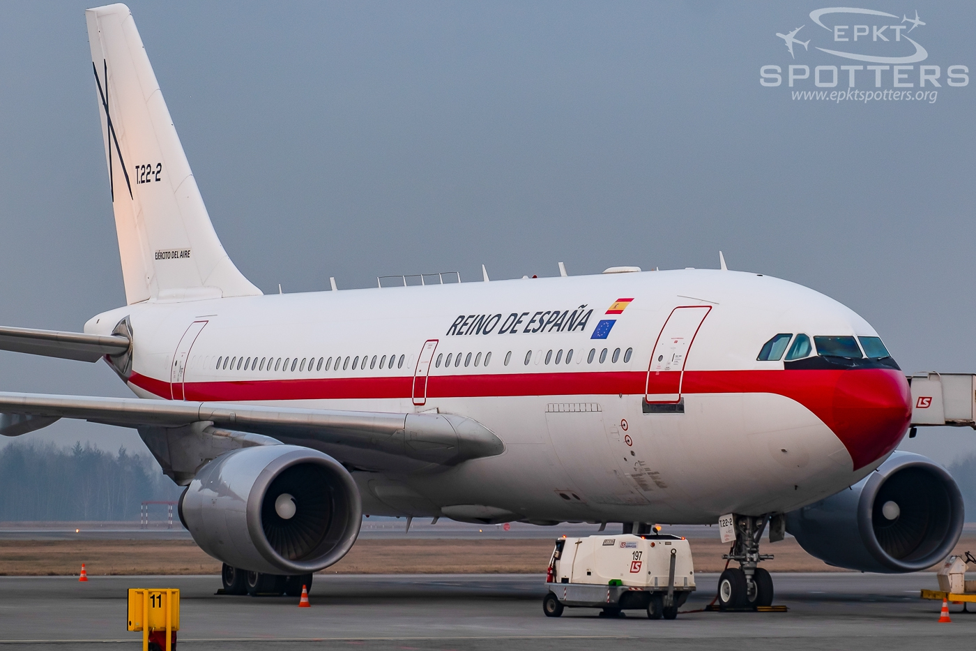 T.22-2 - Airbus A310 -304 (Spain - Air Force) / Pyrzowice - Katowice Poland [EPKT/KTW]