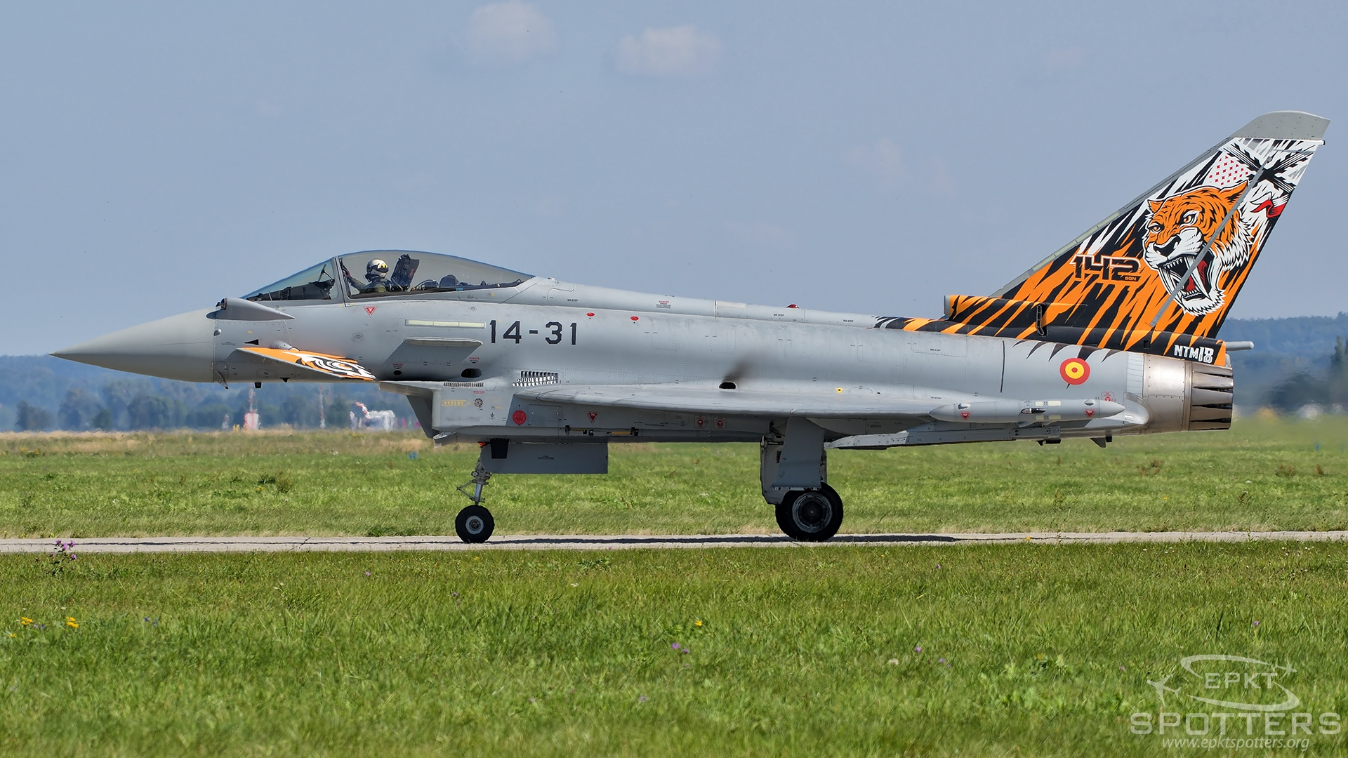 C.16-71 - Eurofighter Typhoon S  (Spain - Air Force) / Leos Janacek Airport - Ostrava Czech Republic [LKMT/OSR]