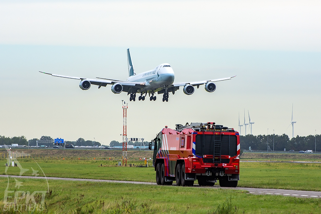 B-LJL - Boeing 747 8F (Cathay Pacific Cargo) / Amsterdam Airport Schiphol - Amsterdam Netherlands [EHAM/AMS]