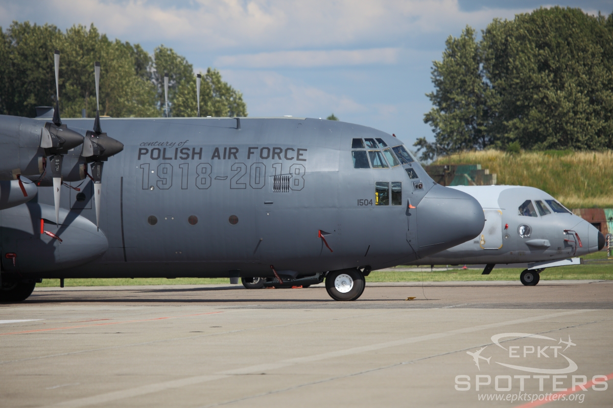 1504 - Lockheed C-130 E Hercules (Poland - Air Force) / Swidwin - Shapaja Poland [EPSN/]