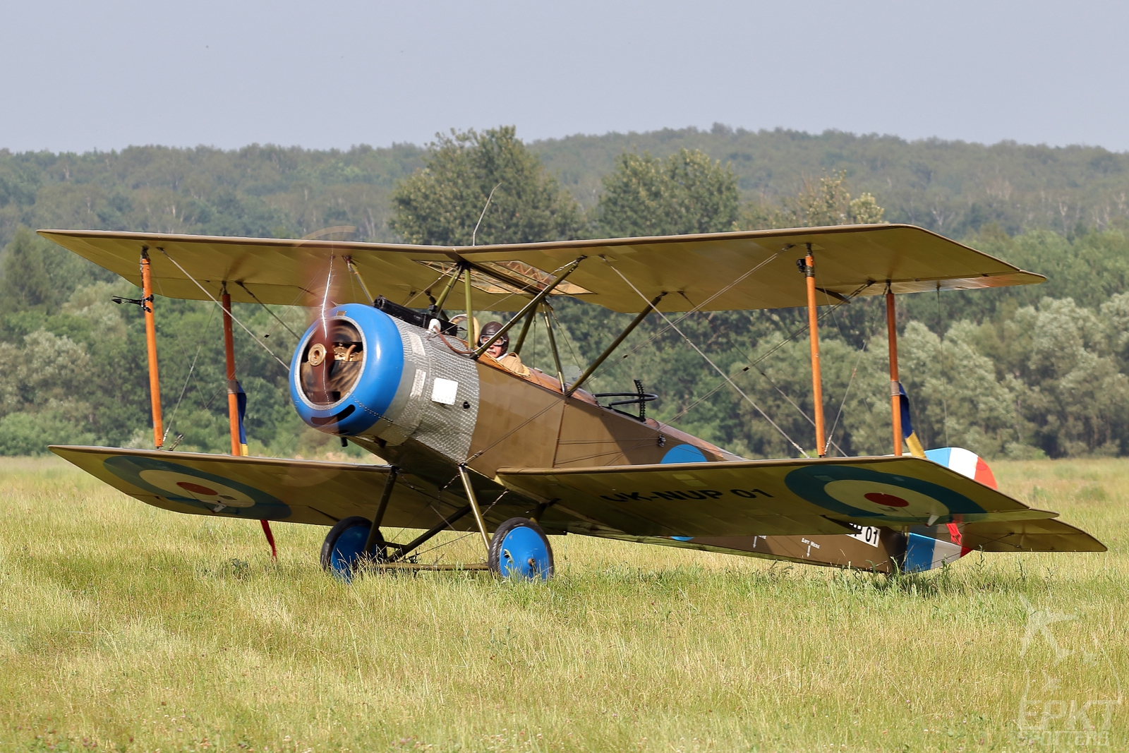OK-NUP01 - Sopwith Strutter 1 1/2 (Private) / Muchowiec - Katowice Poland [EPKM/]