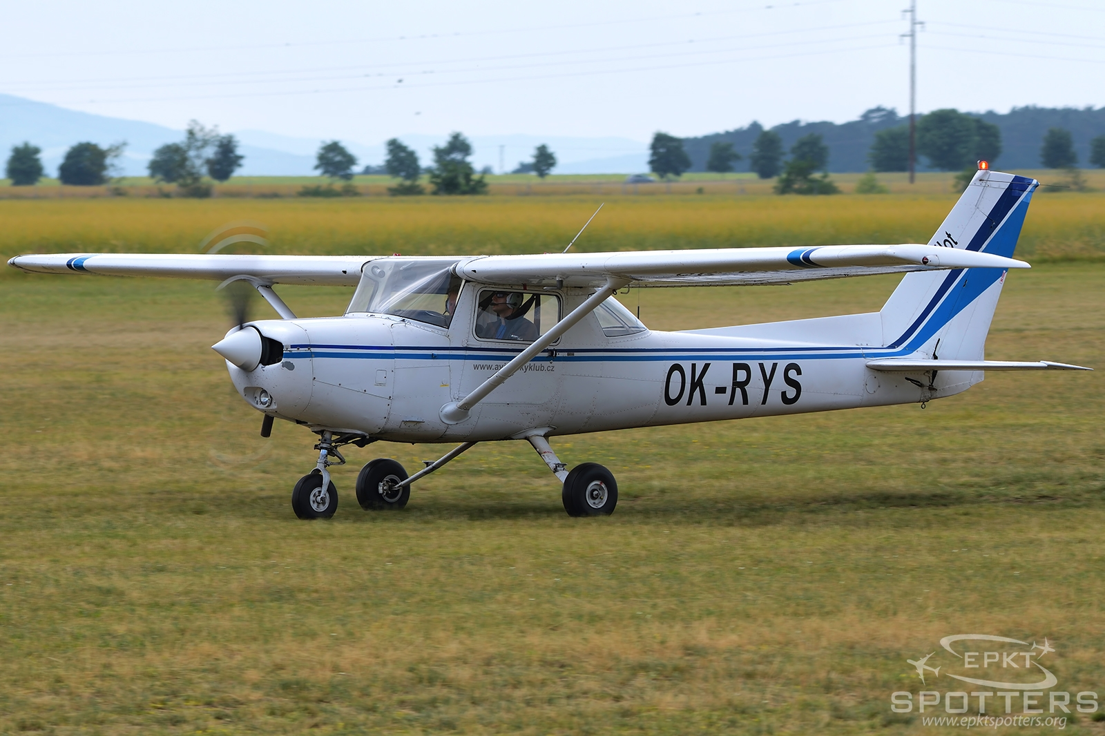 OK-RYS  - Cessna 152  (Aviation Club) / Roudnice - Roudnice Nad Labem Czech Republic [LKRO/]