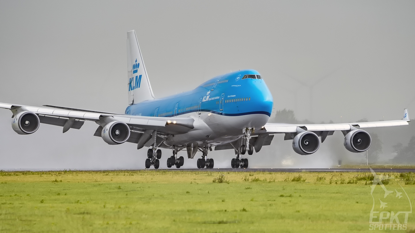 PH-BFW - Boeing 747 -406(M) (KLM Royal Dutch Airlines) / Amsterdam Airport Schiphol - Amsterdam Netherlands [EHAM/AMS]