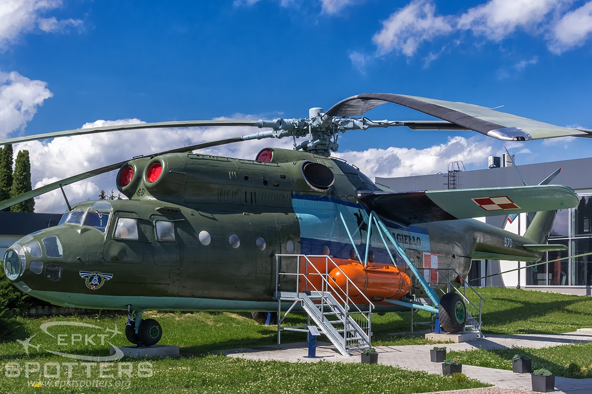670 - Mil Mi-6 A (Poland - Air Force) / Deblin - Deblin Poland [EPDE/]