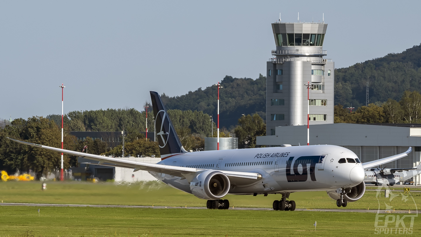 SP-LSE - Boeing 787 -9 Dreamliner (LOT Polish Airlines) / Balice - Krakow Poland [EPKK/KRK]