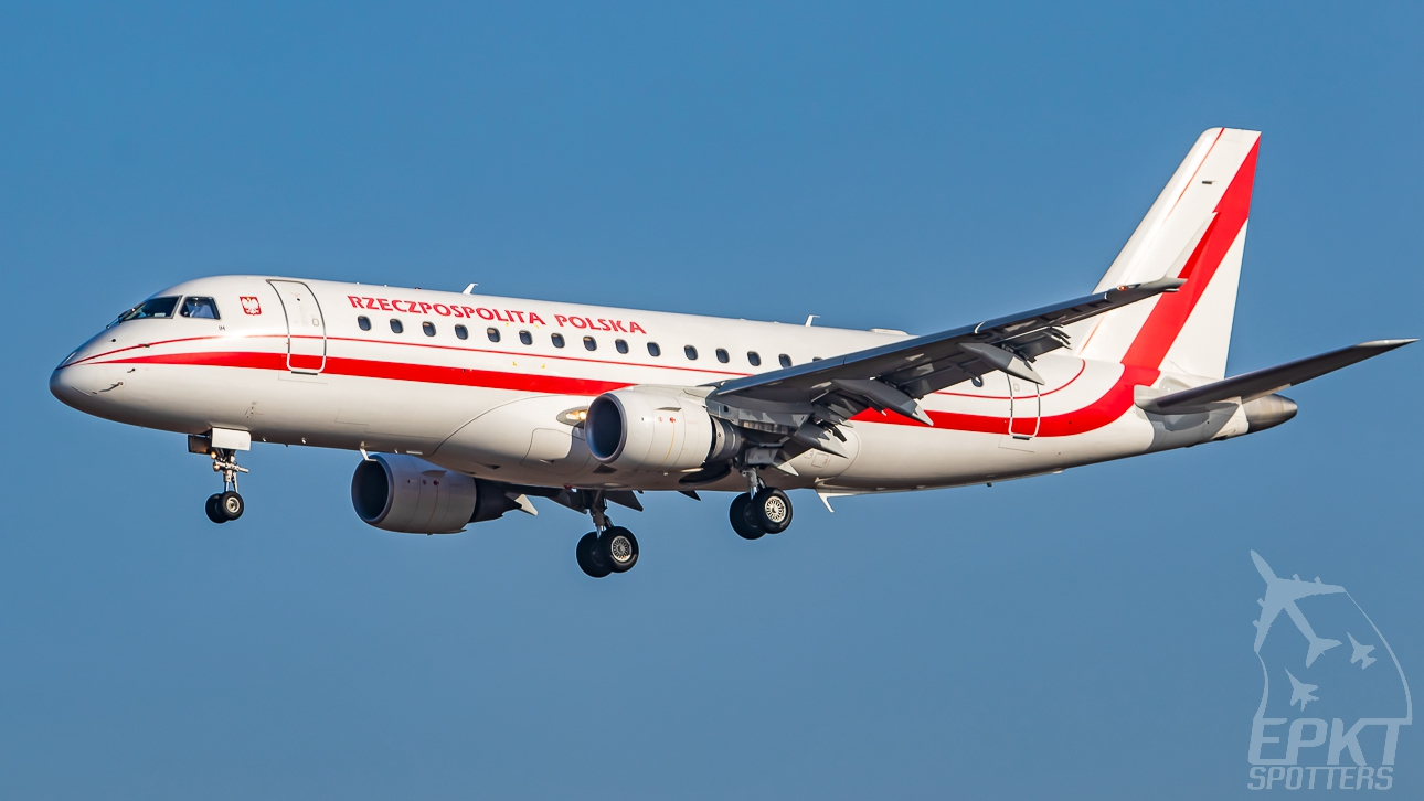 SP-LIH - Embraer 170 -200LR (Poland - Government (LOT Polish Airlines)) / Pyrzowice - Katowice Poland [EPKT/KTW]