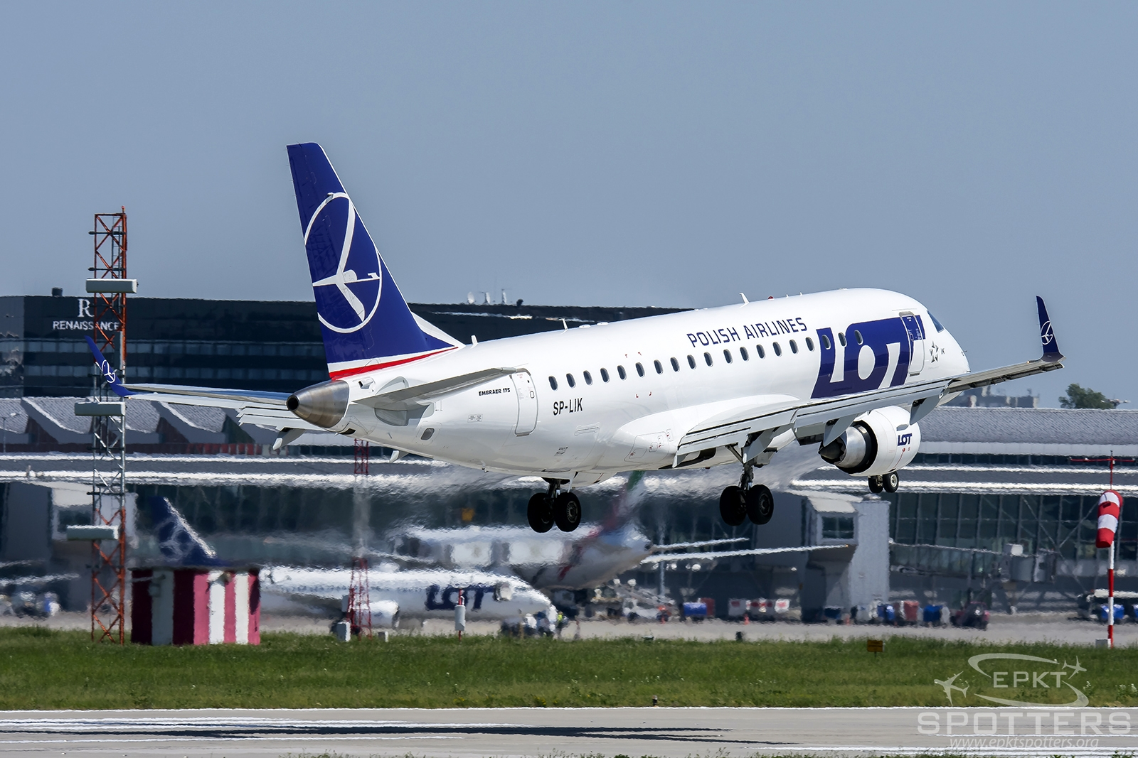 SP-LIK - Embraer 170 -200LR (LOT Polish Airlines) / Chopin / Okecie - Warsaw Poland [EPWA/WAW]