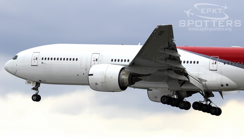 VQ-BUD - Boeing 777 -2Q8(ER) (Nordwind Airlines) / Pyrzowice - Katowice Poland [EPKT/KTW]