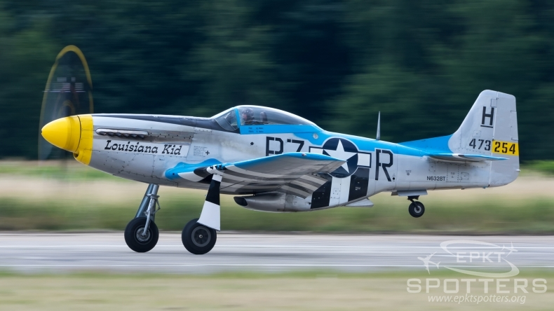 N6328T - North American P-51 D Mustang (Private) / Muchowiec - Katowice Poland [EPKM/]