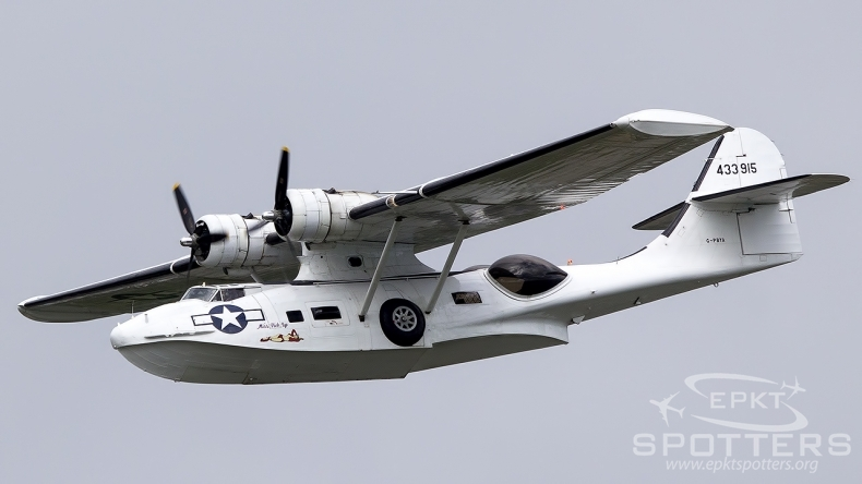 G-PBYA - Canadian Vickers PBY-5 A Canso (Private) / Sola - Stavanger Norway [ENZV/SVG ]