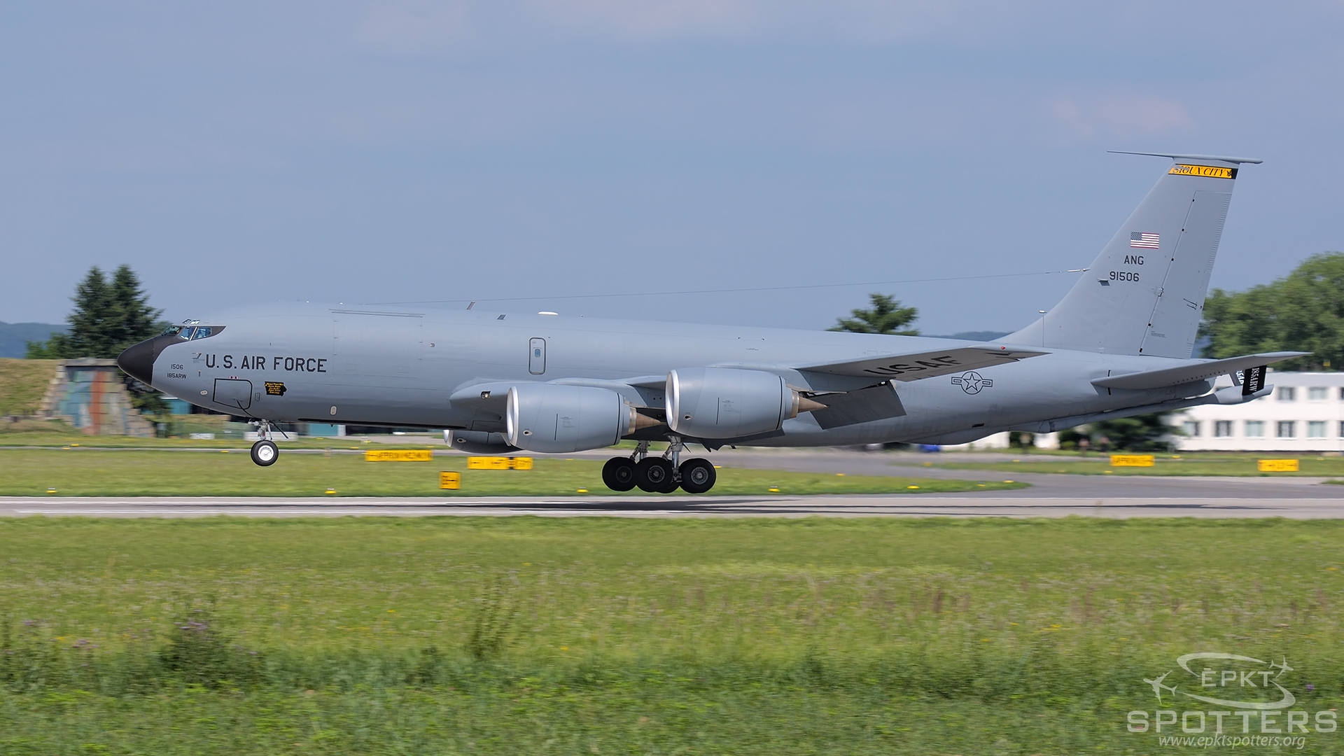 59-1506 - Boeing KC-135R Stratotanker (USA - Air Force) / Caslav - Caslav Czech Republic [LKCV/]
