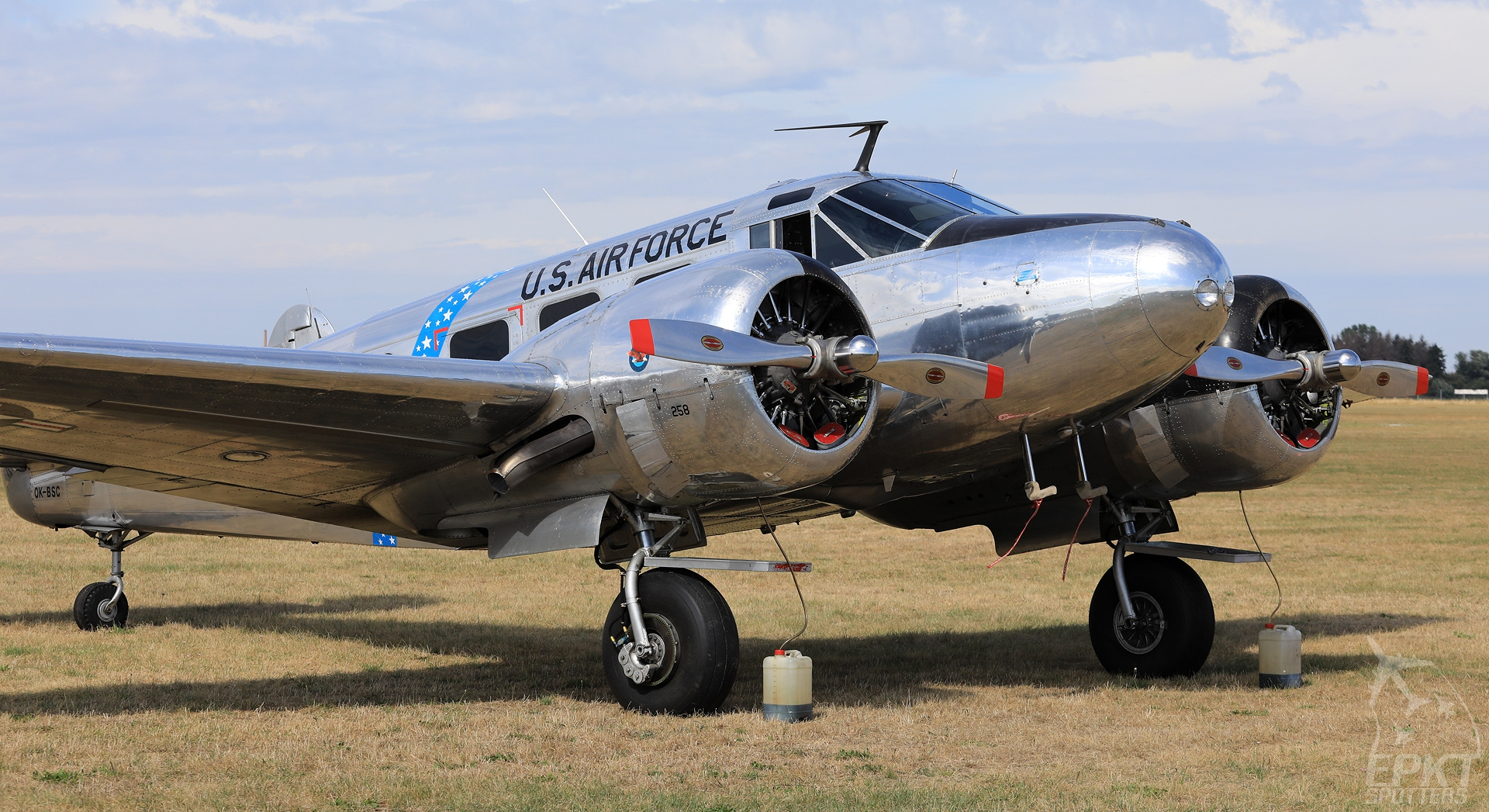 OK-BSC - Beechcraft C-45 H Expeditor (Private) / Leszno - Leszno Poland [EPLS/]