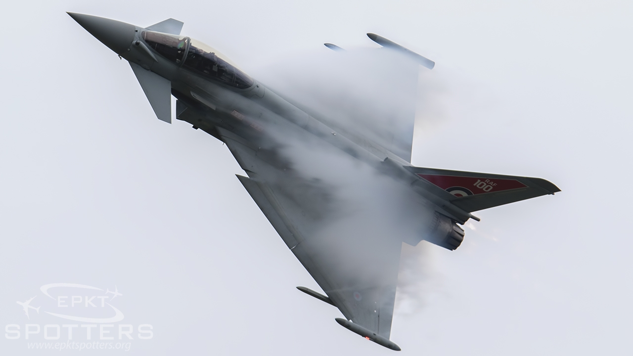 ZK318 - Eurofighter Typhoon FGR4 (United Kingdom - Royal Air Force (RAF)) / Radom - Radom Poland [EPRA/RDO]