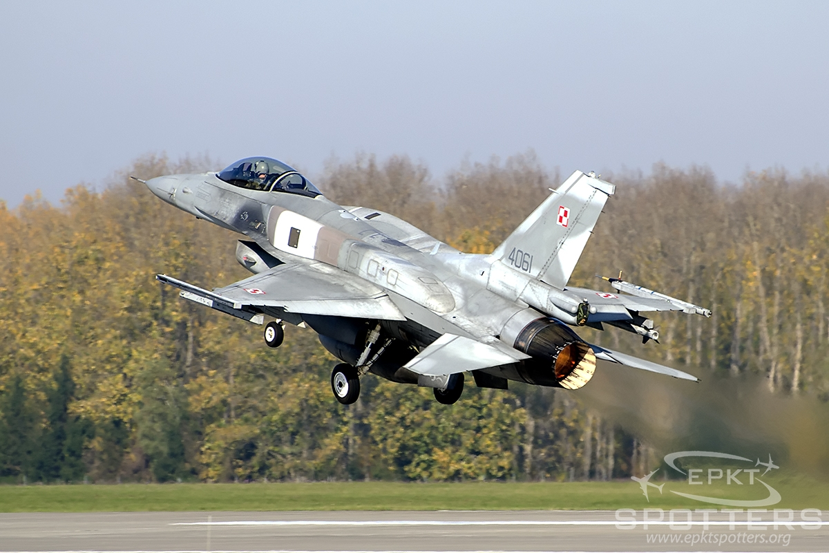 4061 - Lockheed Martin F-16 C Fighting Falcon (Poland - Air Force) / Krzesiny - Poznan Poland [EPKS/]