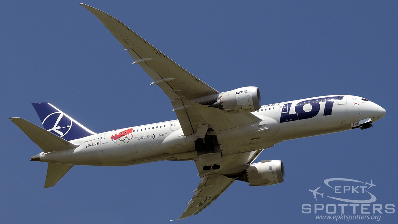 SP-LRH - Boeing 787 -85D Dreamliner (LOT Polish Airlines) / Balice - Krakow Poland [EPKK/KRK]