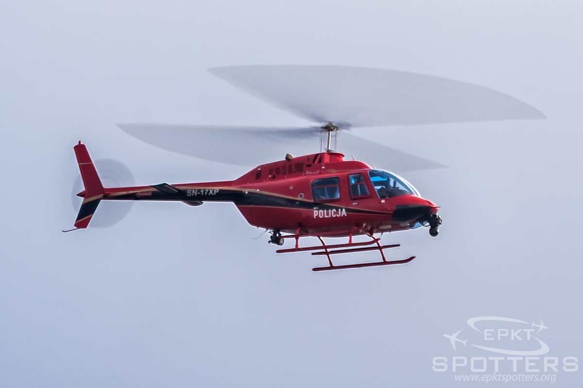 SN-17XP  - Bell 206 B Jet Ranger (Poland - Police) / Other location - In flight Poland [/]