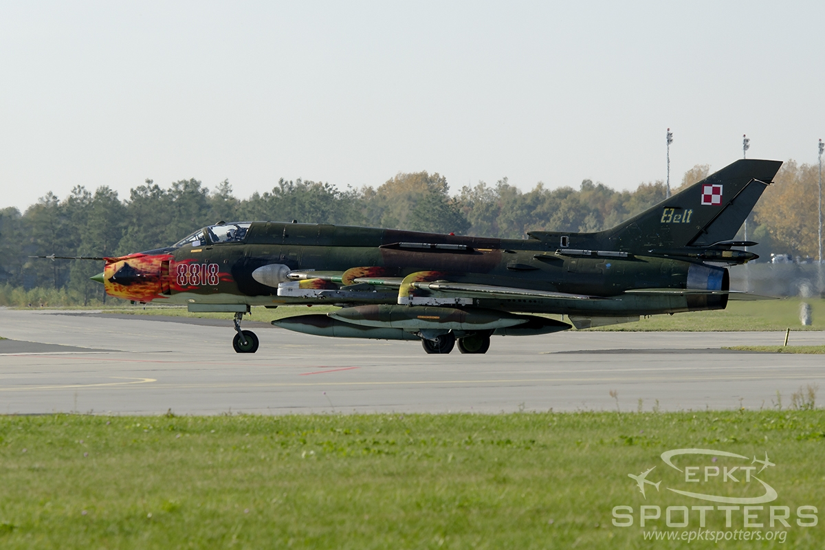 8818 - Sukhoi Su-22 M4 (Poland - Air Force) / Krzesiny - Poznan Poland [EPKS/]