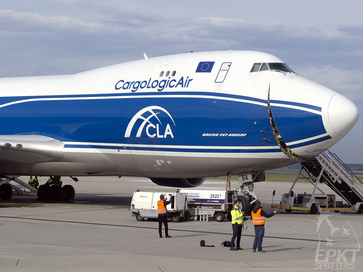 G-CLBA - Boeing 747 -428ERF (Cargologicair) / Pyrzowice - Katowice Poland [EPKT/KTW]