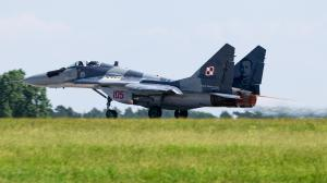 105/Mikoyan Gurevich/MiG-29A Fulcrum/Poland - Air Force/Schönefeld/Berlin/Germany/EDDB/SXF