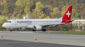 HB-JVN/Embraer/190-100LR/Helvetic Airways/Balice/Krakow/Poland/EPKK/KRK