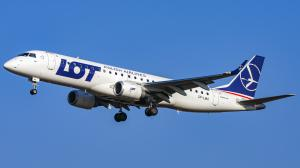 SP-LMA/Embraer/190-100STD/LOT Polish Airlines/Balice/Krakow/Poland/EPKK/KRK