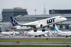 SP-LMD/Embraer/190-100STD/LOT Polish Airlines/Chopin / Okecie/Warsaw/Poland/EPWA/WAW